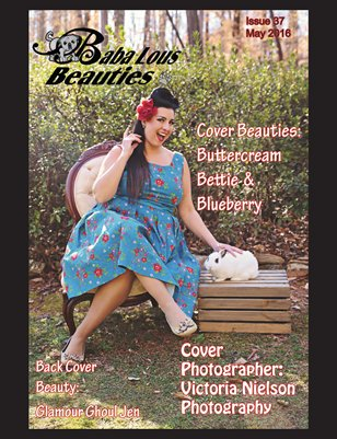 Baba Lous Beauties- Anything Pin Up Issue 37: May 2016