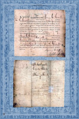 1827 Marriage Certificate, Major C. Howell & Mary Meese, Maury County, Tennessee
