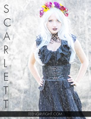 Scarlett's Gothic Cosplay | Teen Girl Fight