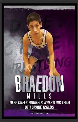 Braedon Mills DC 5X8 Prints #2