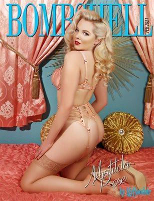 BOMBSHELL Magazine February 2021 - BOOK 1 - Matilda Rose Cover