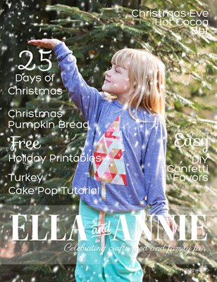 Holiday 2015: Ella and Annie