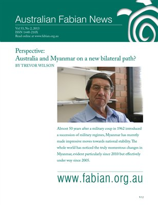 Australian Fabian News Vol53 No2 2013