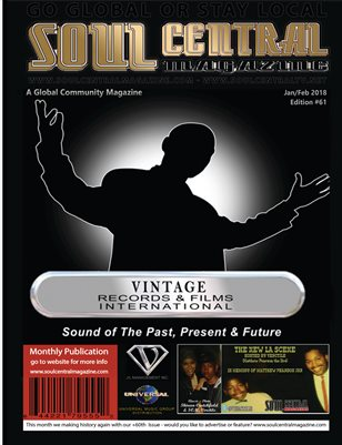 Soul Central Magazine Verctile 61st Edition
