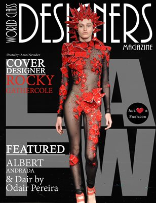 World Class Designers Magazine with Rocky Gathercole