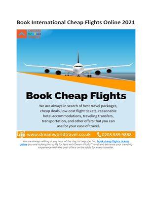 Book Cheapest Flights Online