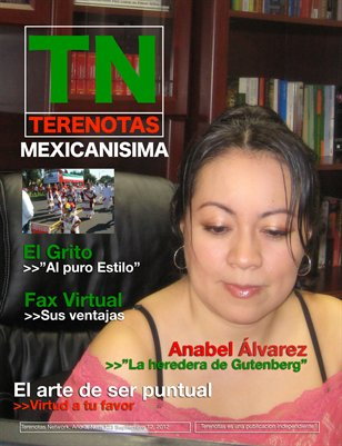 Anabel Alvarez... La heredera de Gutenberg