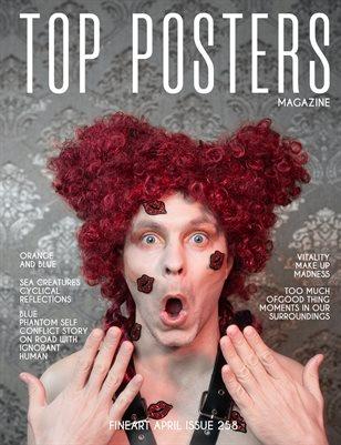 TOP POSTERS MAGAZINE- FINEART APRIL (vol 258)