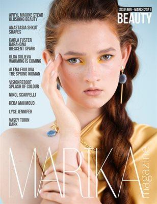 MARIKA MAGAZINE BEAUTY (ISSUE 669 - MARCH)