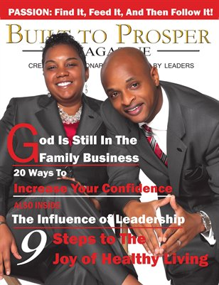 Built To Prosper Magazine Issue II Cover 1