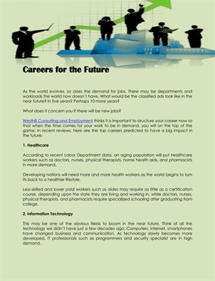 Careers for the Future