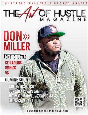 The Art Of Hustle Magazine Issue #3