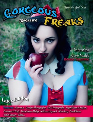 Issue 16 Latex Edition Female Cover