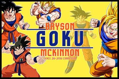 Bryson McKinnon GOKU Poster