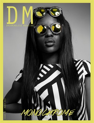 DREAMINGLESS MAGAZINE - MONOCHROME - ISSUE 08