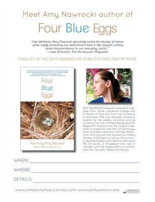 Four Blue Eggs Event Poster