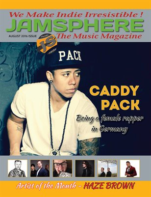 Jamsphere Indie Music Magazine August 2016