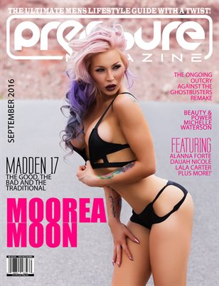 PRESSURE - Sept 2016 #24 (Moorea Moon)