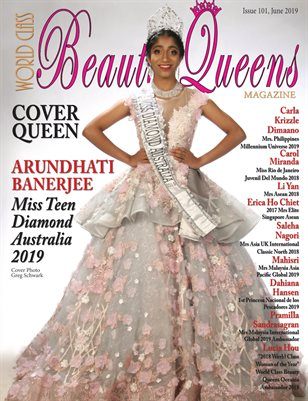 World Class Beauty Queens Magazine Issue 101 with Arundhati Banerjee