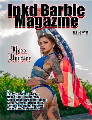 Inkd Barbie Magazine Issue #111 - Rozz Monster