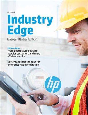 HP Industry Edge: Utilities edition