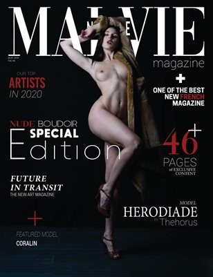 MALVIE Mag | NUDE and Boudoir Special Edition | Vol. 04 | MAY 2020
