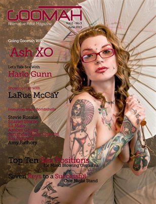 Goomah Magazine - June 2013 - Cover One