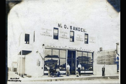 Nels O. Sanden's General Store, Carbondale, Ward, North Dakota