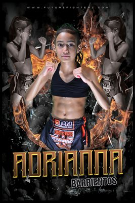 Adrianna Barrientos Fire Ring Poster