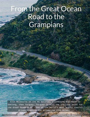 From the Great Ocean Road to the Grampians Tour