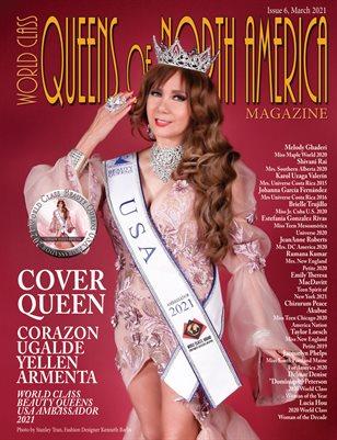 World Class Queens of North America Magazine, Issue 6, Corazon Ugalde Yellen Armenta