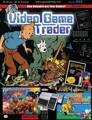 Video Game Trader #22 (Fall 2012) w/Price Guide