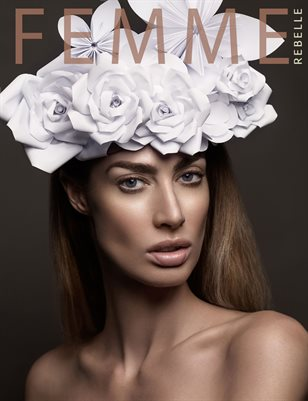 Femme Rebelle Magazine SEPTEMBER 2017 - BOOK 1 Martin Higgs Cover