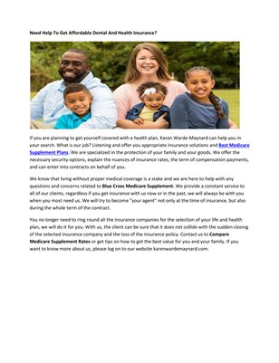Blue Cross Blue Shield Medicare Advantage Plans