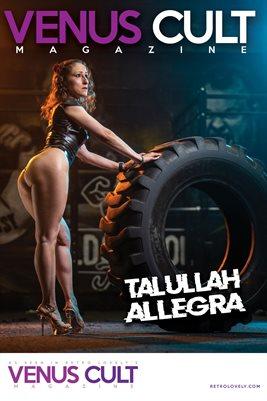 Venus Cult No.51 – Talullah Allegra  Cover Poster