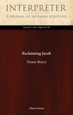 Reclaiming Jacob