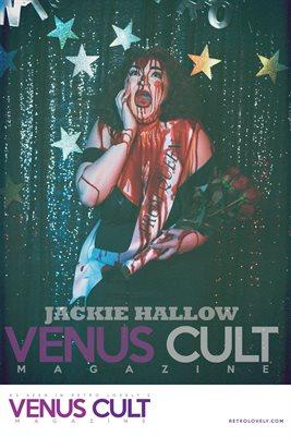 Venus Cult No.37 – Jackie Hallow Cover Poster
