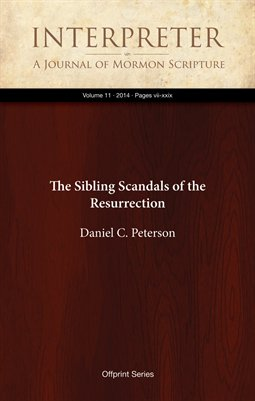 The Sibling Scandals of the Resurrection