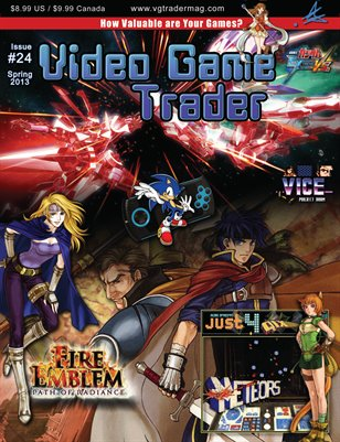Video Game Trader #24 (Spring 2013) w/Price Guide