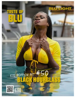 BLU LIGHT MAGAZINE JANUARY 2020 EDITION FEAT BLACK HOURGLASS