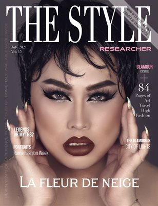 THE STYLE RESEARCHER July 2021 Vol. 15 / Glamour Issue
