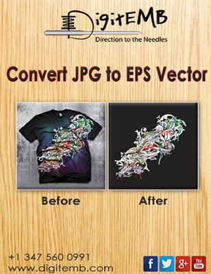 Convert JPG to EPS Vector