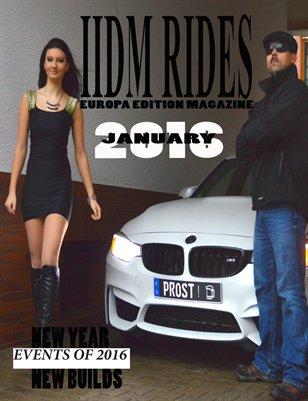 IIDM RIDES Europe Magazine Jan 2016