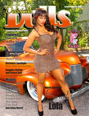 Delicious Dolls 2013 March Issue - Lola Bombshell Cover