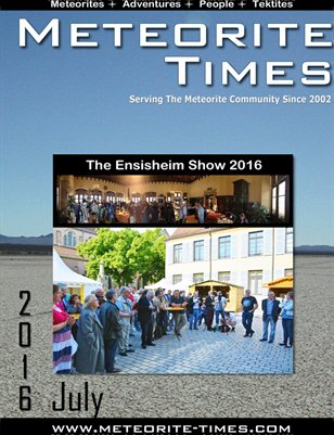 Meteorite Times Magazine - July 2016 Issue