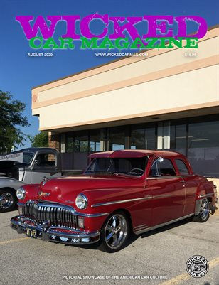 WICKED CAR MAGAZINE - AT THE OFFICE CAR SHOW - DETOSO