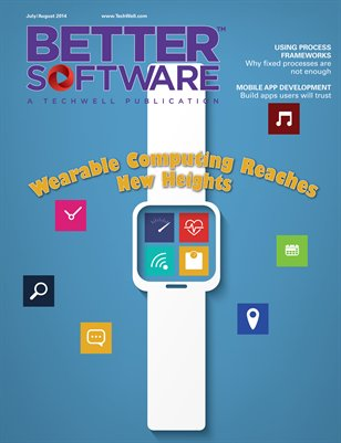 Better Software Magazine July/August 2014