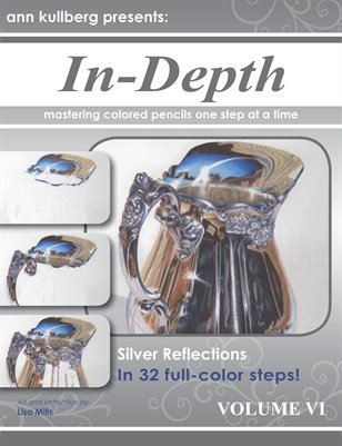 Colored Pencil At-Home Mini-Workshop: Silver Reflections