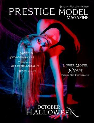 PRESTIGE MODELS MAGAZINE Halloween October Issue 6/10