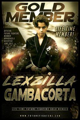Alexander Gambacorta Gold Member/Diploma Poster